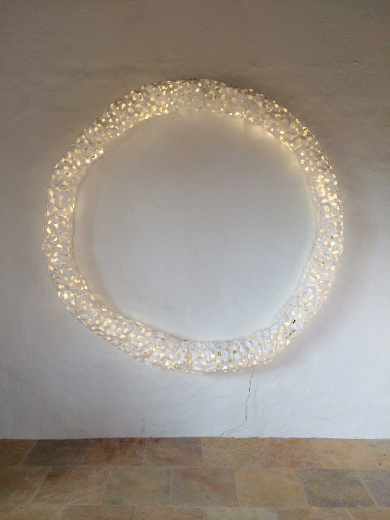 Paper object light-ring Verena Friedrich