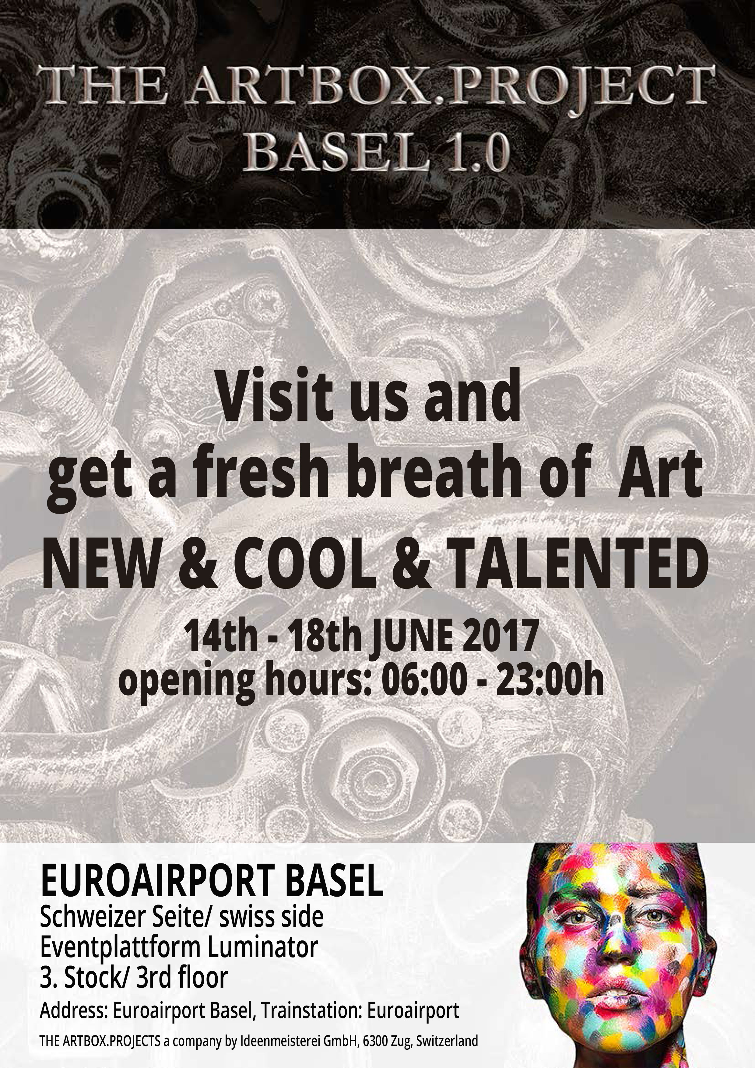 Poster Artboxproject Basel 2017
